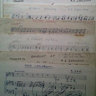 Idelsohn sheet music